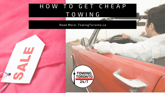 How To Save Money And Get Cheap Towing