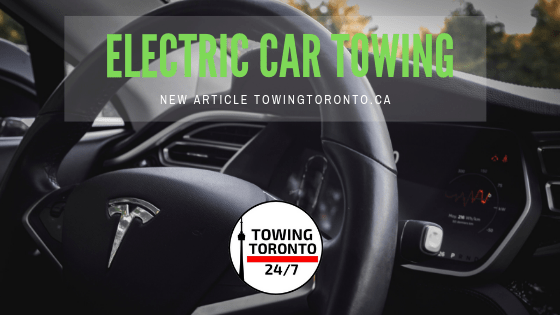 Electric Vehicle Towing And Road Side Assistance